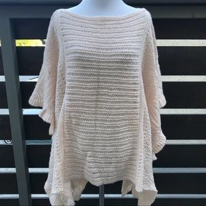 Free People Snow Nymph Sweater Cape